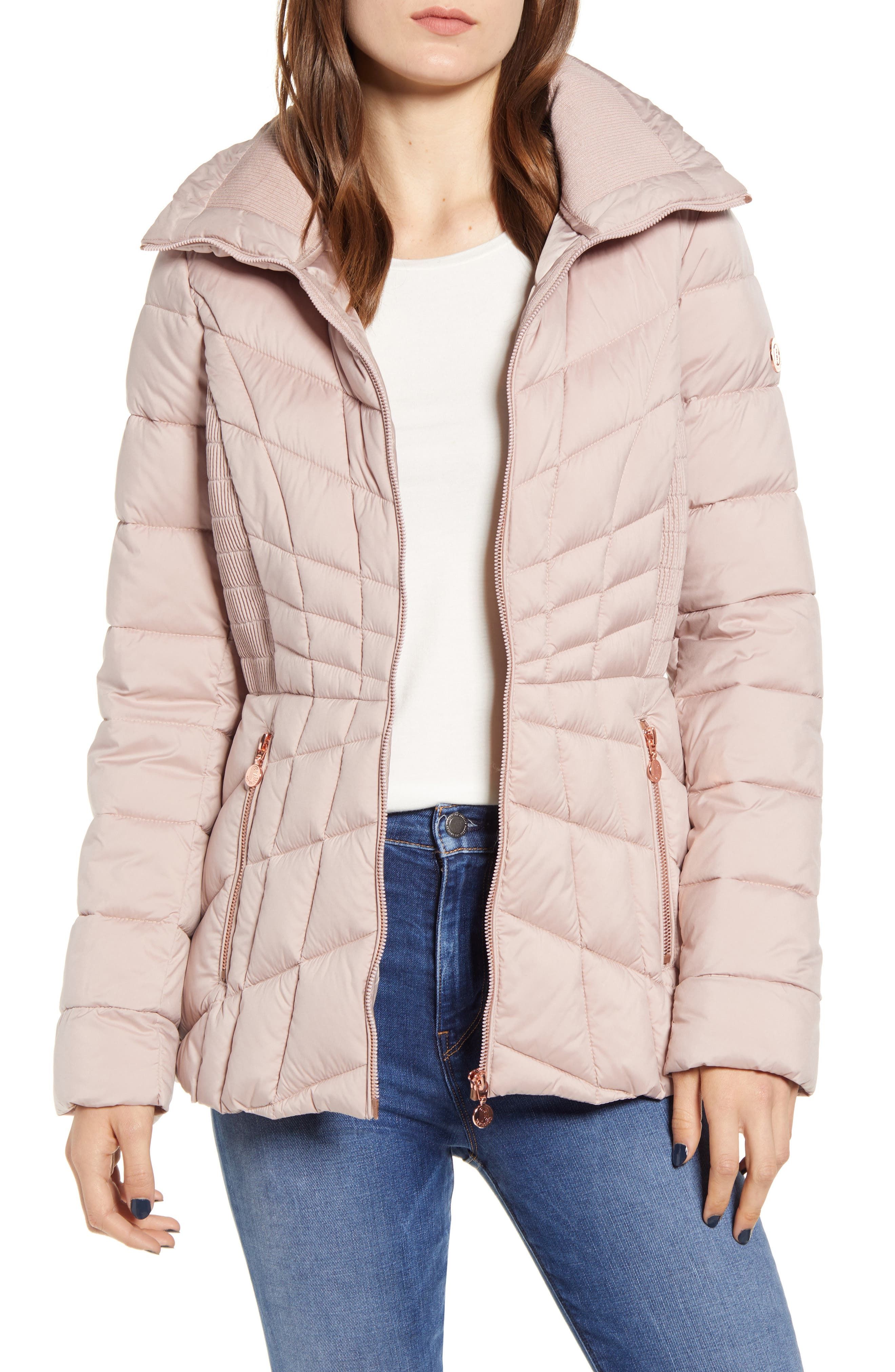 Bernardo Packable PrimaLoft® Coat (Regular & Petite)