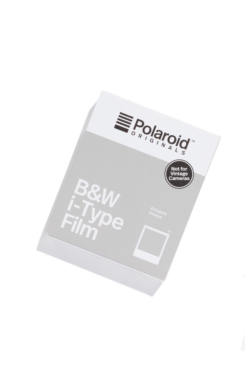 POLAROID ORIGINALS i-Type Black & White Instant Film, Main, color, NONE