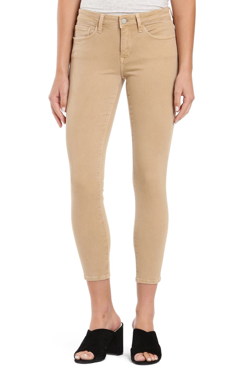MAVI JEANS Mavi Alexa Ankle Jeans, Main, color, IRISH CREAM TWILL
