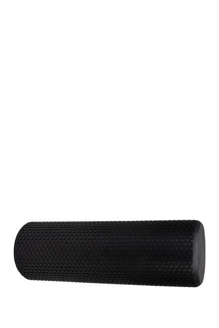 Image of MIND READER High-Density Round Foam Roller - 18 inches - Black