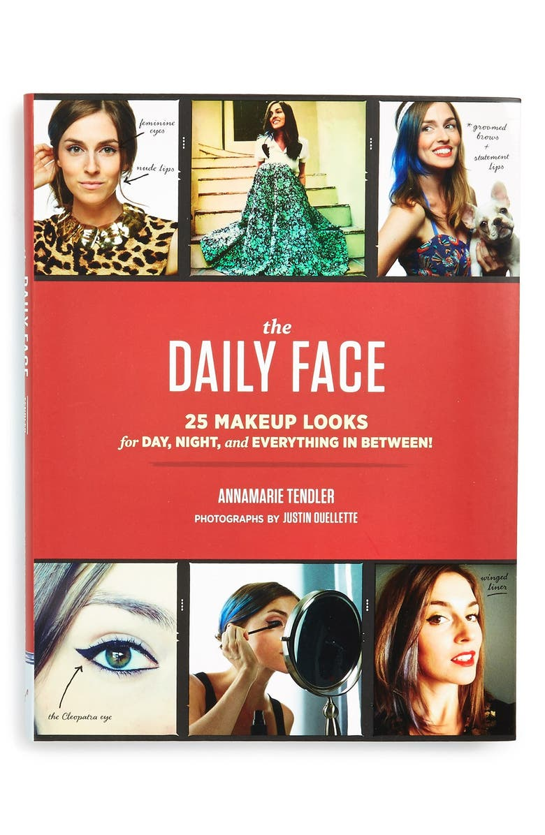 CHRONICLE BOOKS 'The Daily Face' Book, Main, color, 960