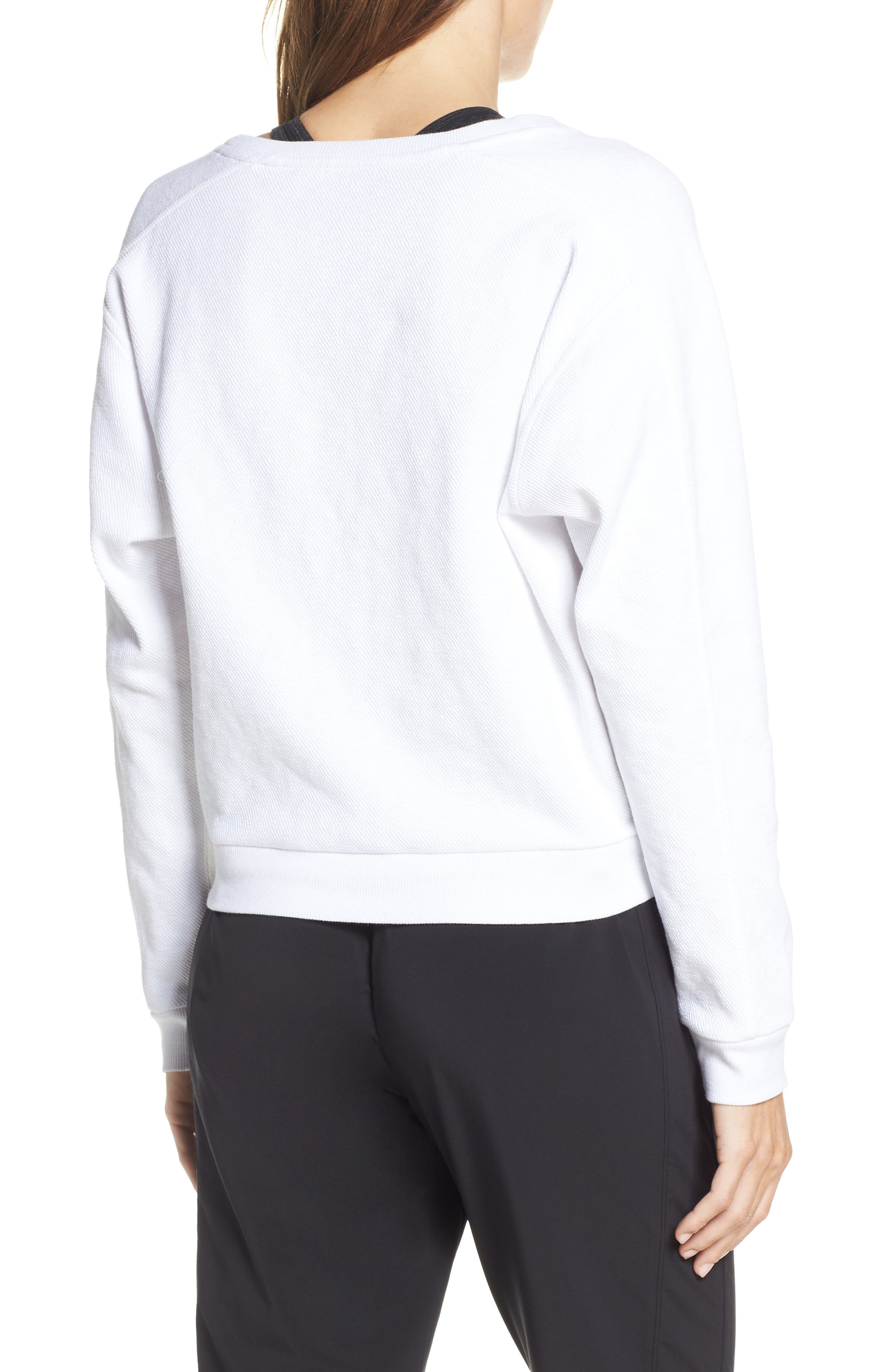 ,                             Vienna Pullover,                             Alternate thumbnail 2, color,                             WHITE