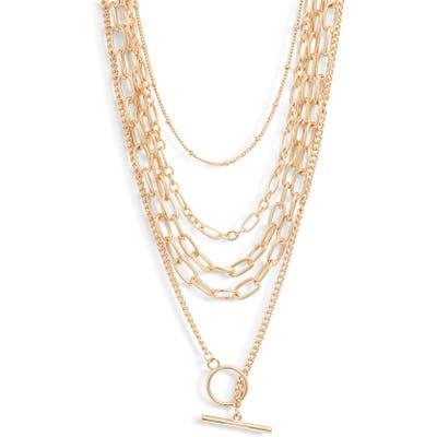 Bp. X Claudia Sulewski Layered Chain Necklace