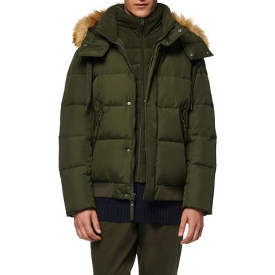 Marc New York Clermont Insulated Bomber Jacket