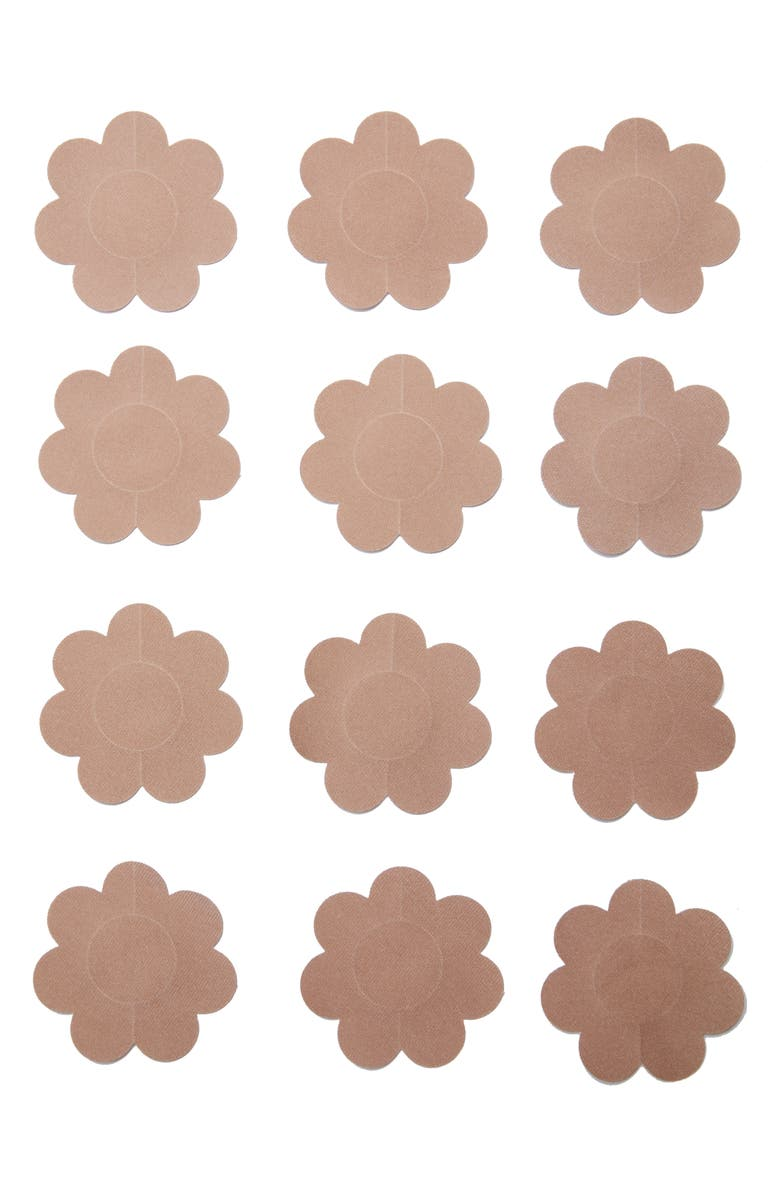 NORDSTROM LINGERIE 6-Pack Disposable Breast Petals, Main, color, NUDE