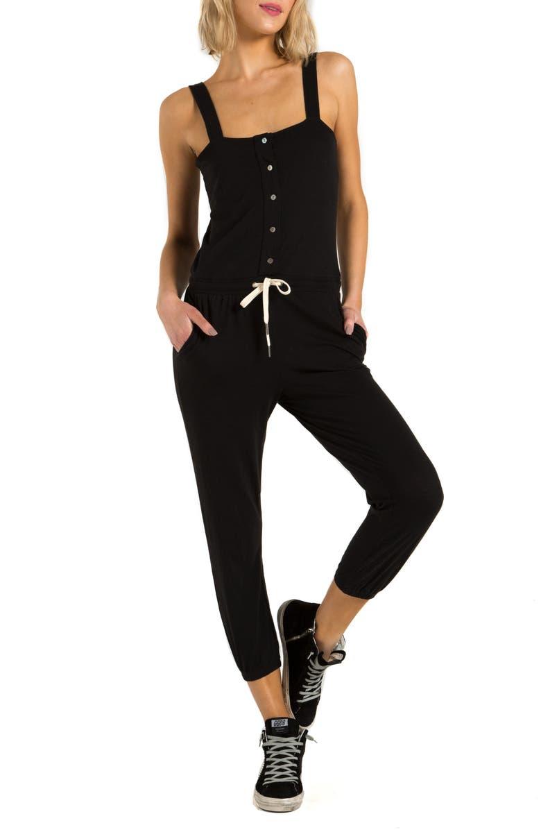 N:PHILANTHROPY Berry Crop Jumpsuit, Main, color, 002