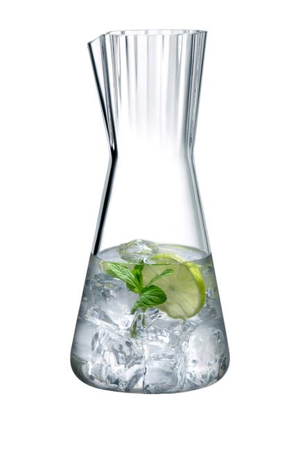 Image of Nude Glass Lady Water Carafe - Clear