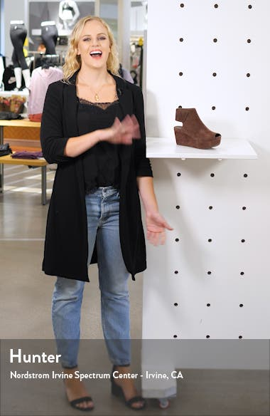 Cutout Wedge Sandal, sales video thumbnail