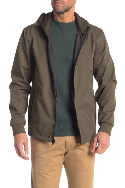 Cole Haan Men's Zip Front Soft Shell Jacket