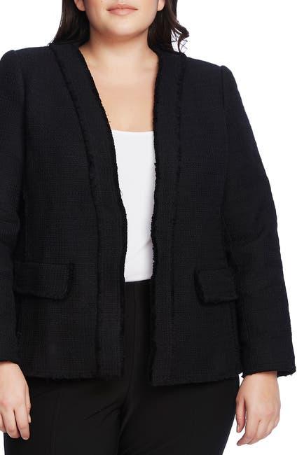 Image of Vince Camuto Cotton Tweed Jacket