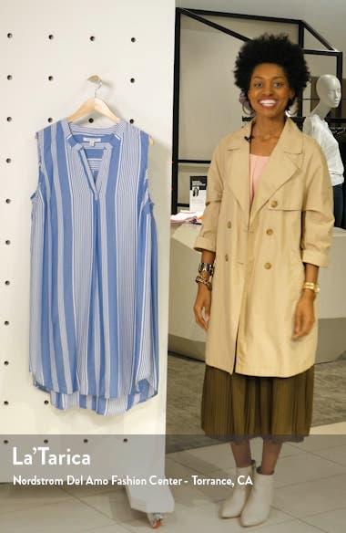 Split Neck Shift Dress, sales video thumbnail