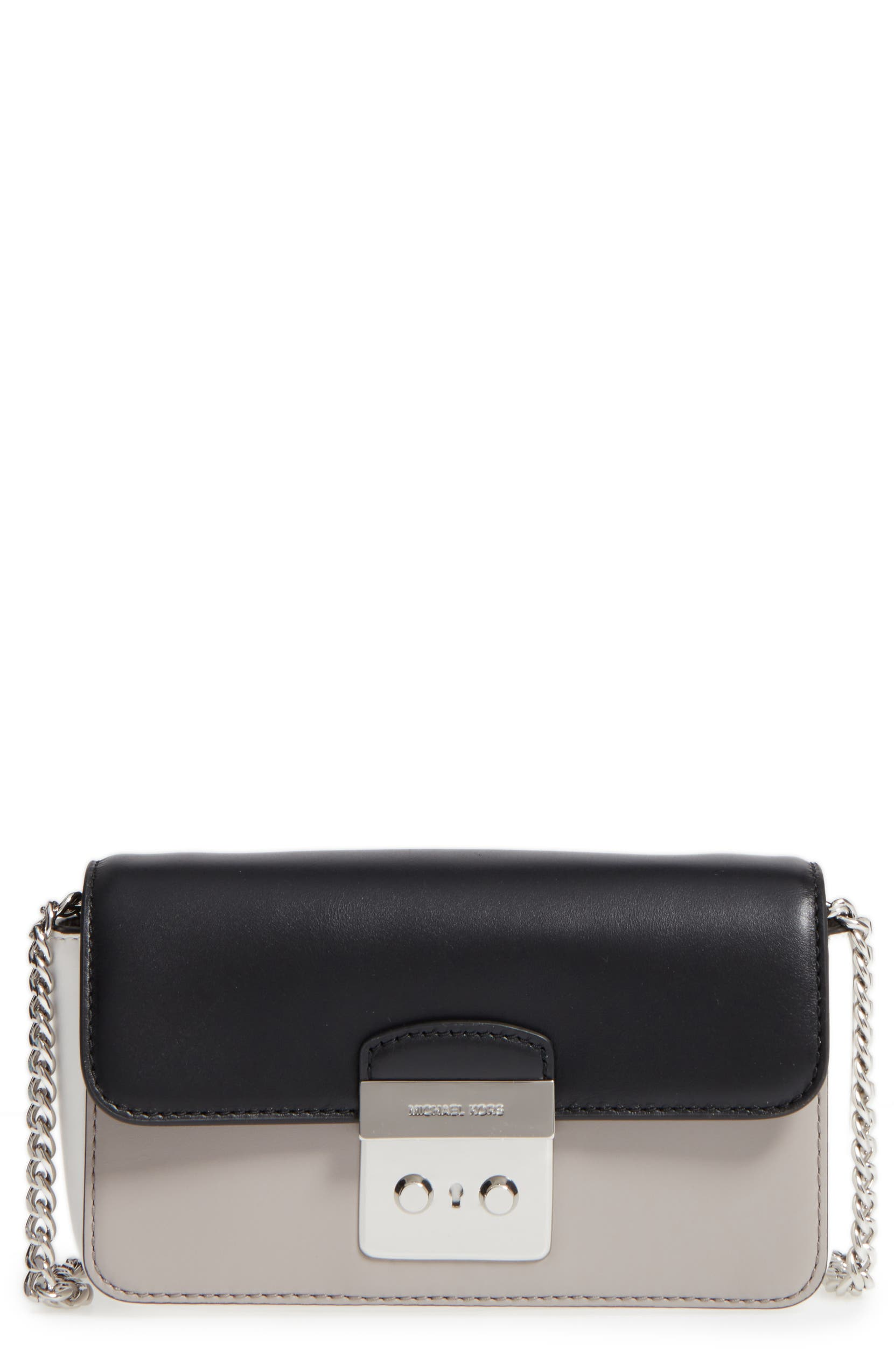 0283ae15d572 MICHAEL Michael Kors Sloan Editor Leather Wallet on a Chain | Nordstrom