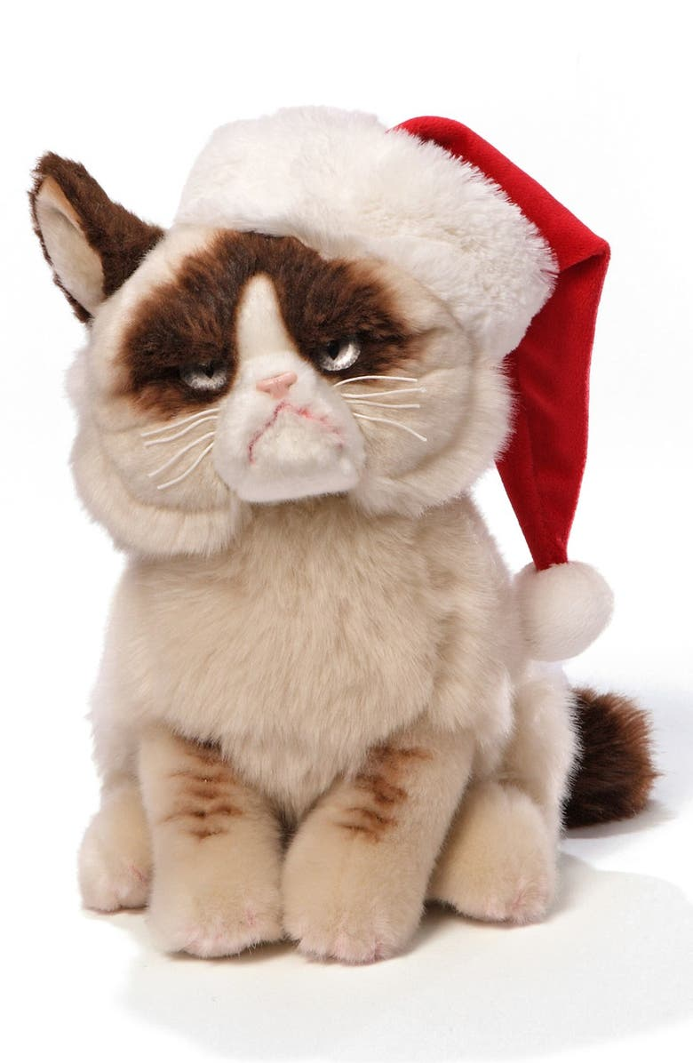 GUND 'Grumpy Cat - Holiday' Stuffed Animal, Main, color, 000