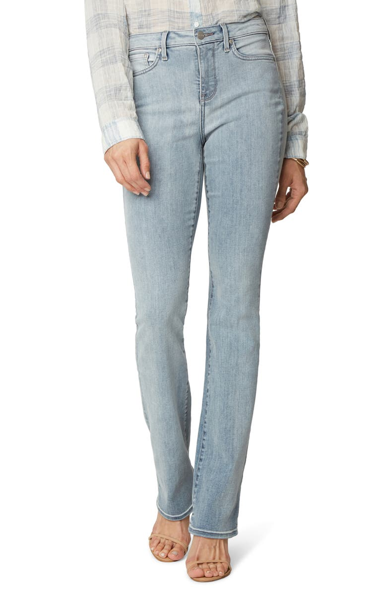 NYDJ Slim Bootcut Jeans, Main, color, SANDSPUR