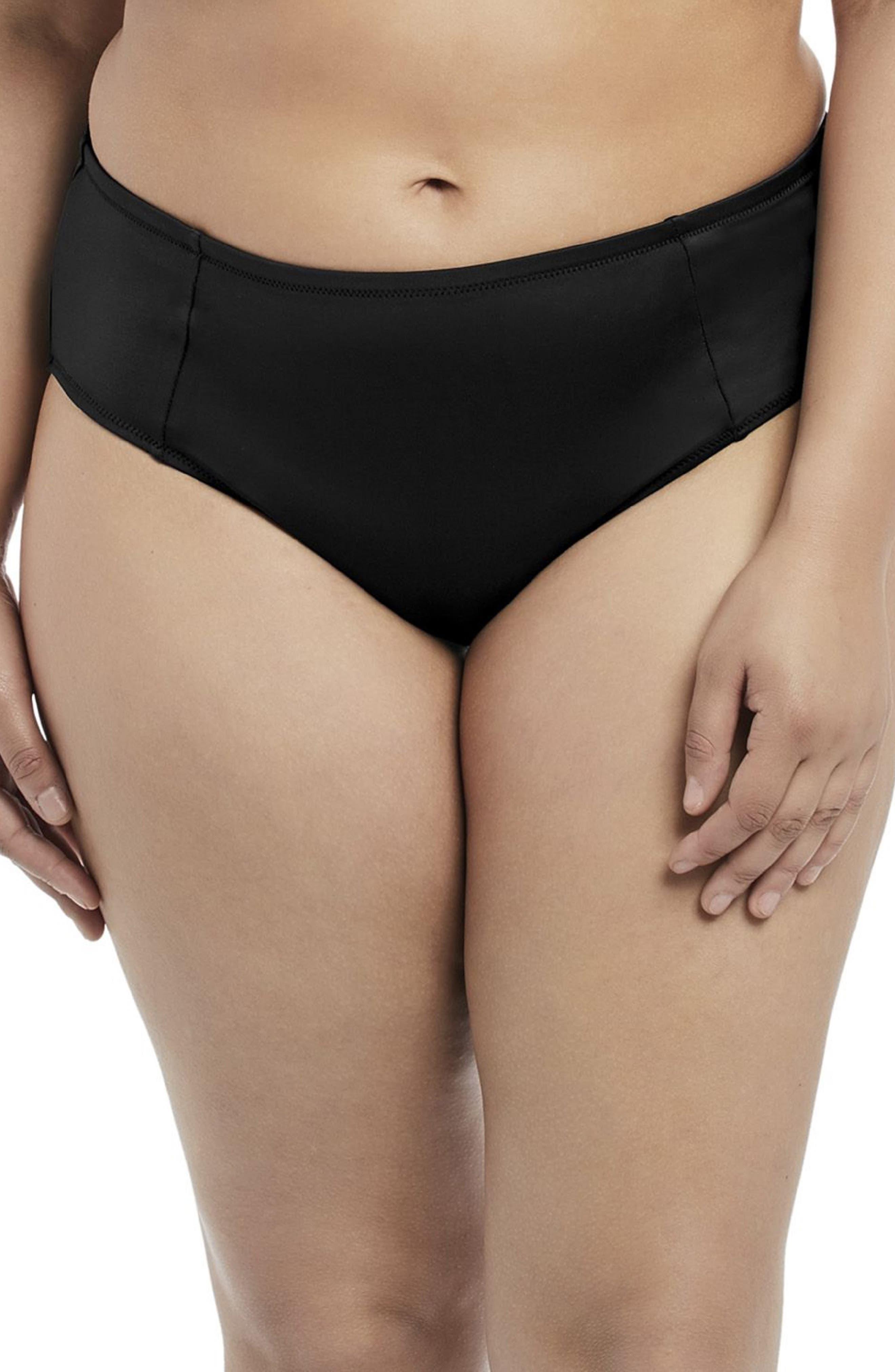 Essentials Mid Rise Bikini Bottoms