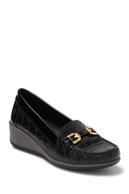 Image of GEOX Arethea Bit Wedge Loafer