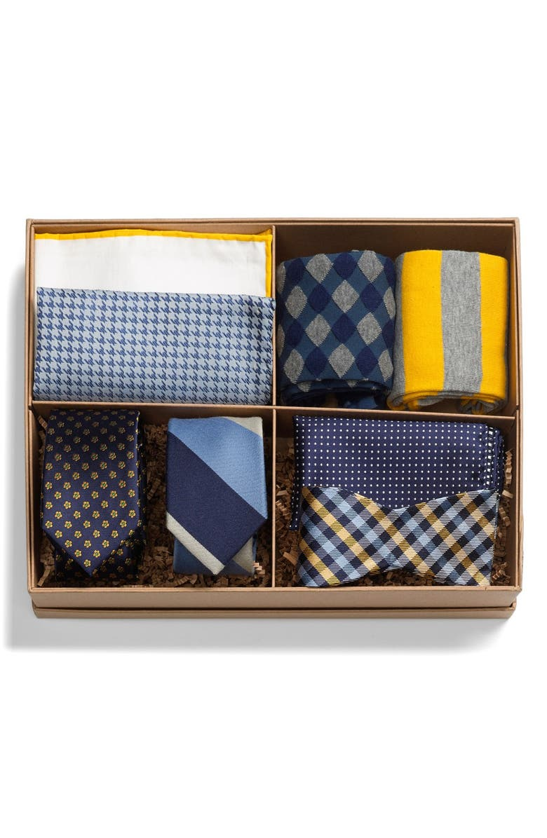 THE TIE BAR Large Style Box, Main, color, 401