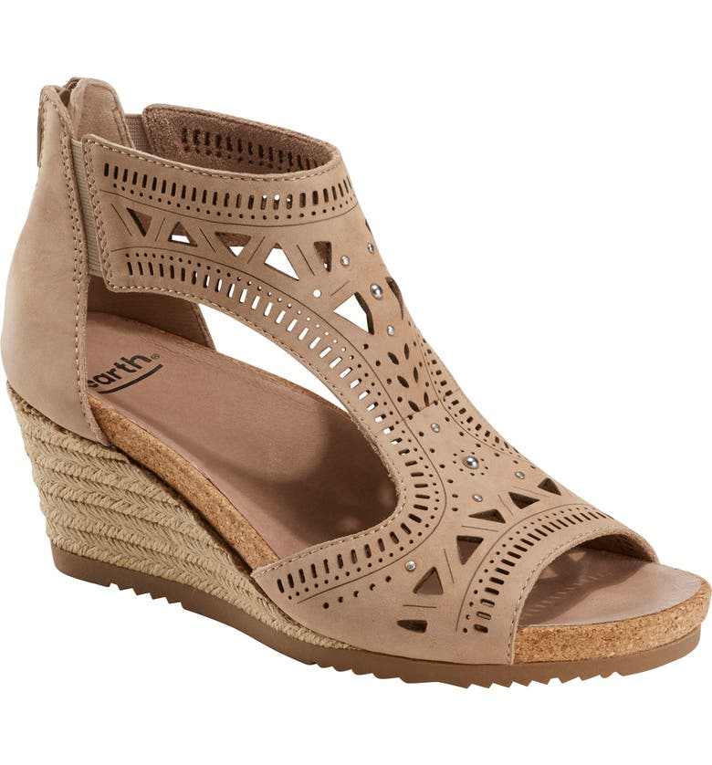Earth Barbuda Wedge Sandal Women