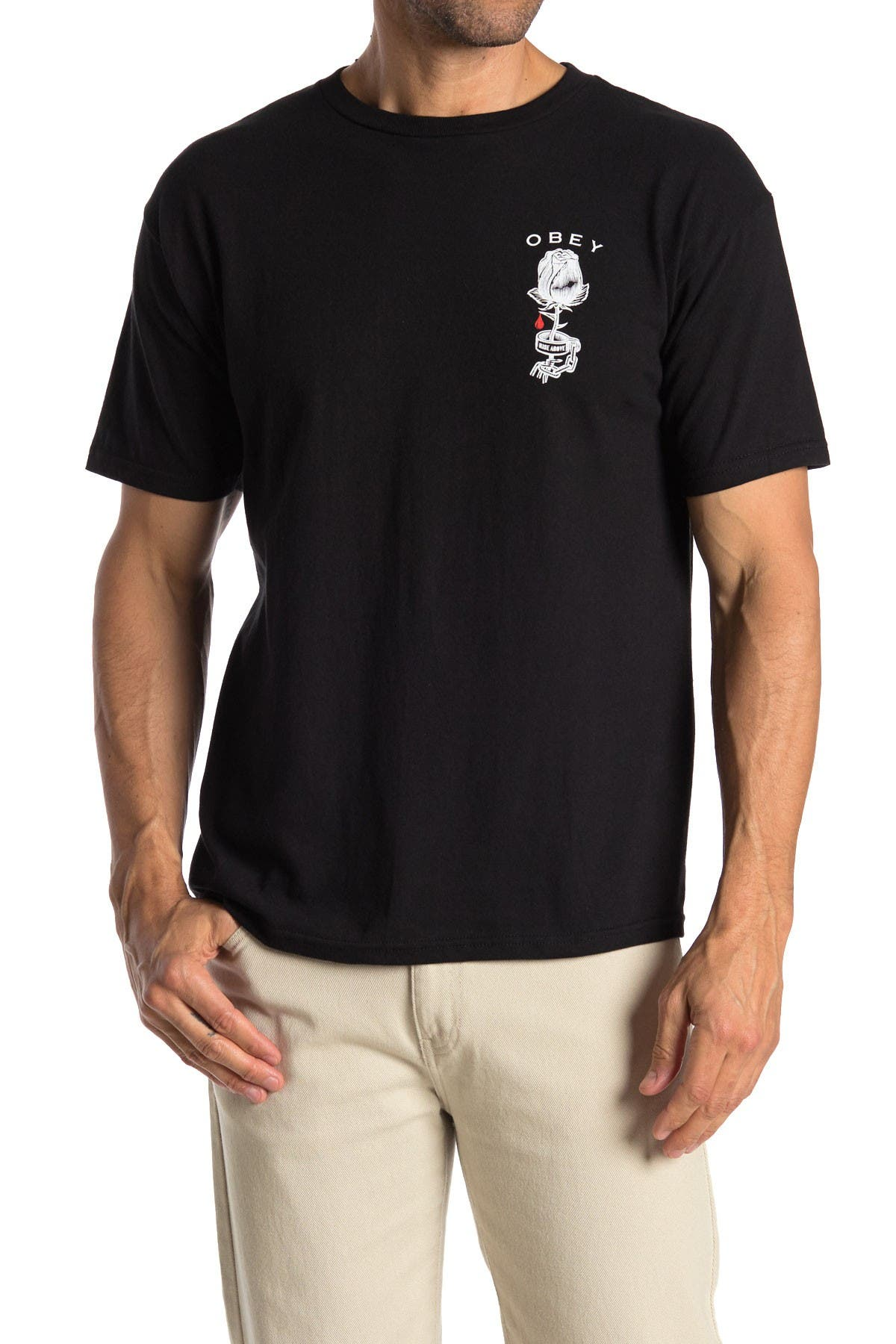 Image of Obey Rose Shackle Short Sleeve Tee