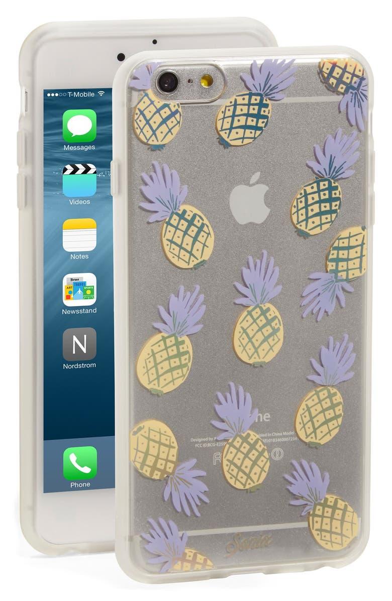 SONIX 'Pineapple' iPhone 6 & 6s Case, Main, color, RAINBOW