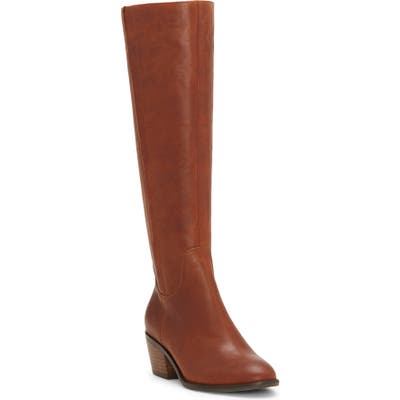 Lucky Brand Iscah Knee High Boot- Brown