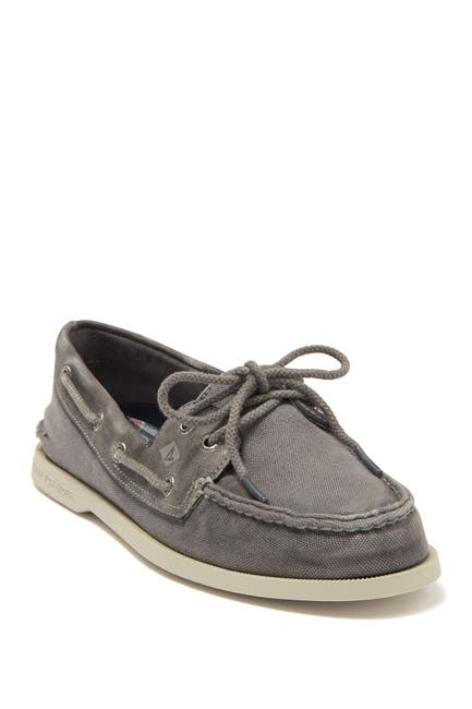 Image of Sperry Authentic Original 2-Eye Garment Wash Boat Shoe
