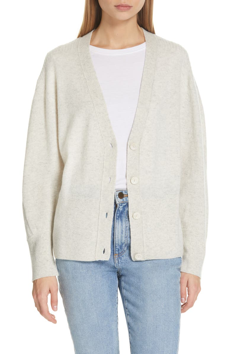 BROCHU WALKER Mason Cashmere Cardigan, Main, color, RAINA MELANGE