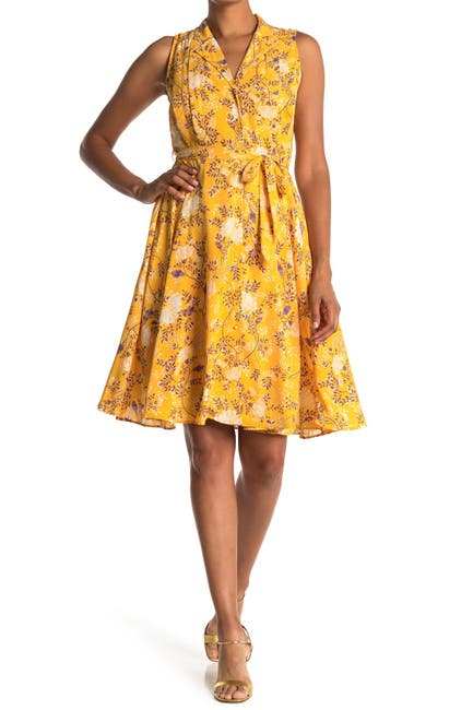 Image of NANETTE nanette lepore Sleeveless Button Front Dress
