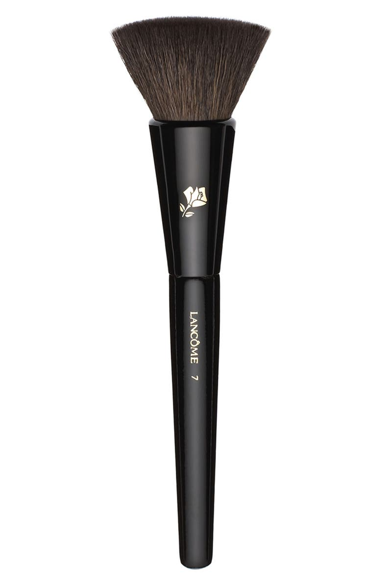 LANCÔME #17 Natural and Flat-Bristled Blush Brush, Main, color, NO COLOR