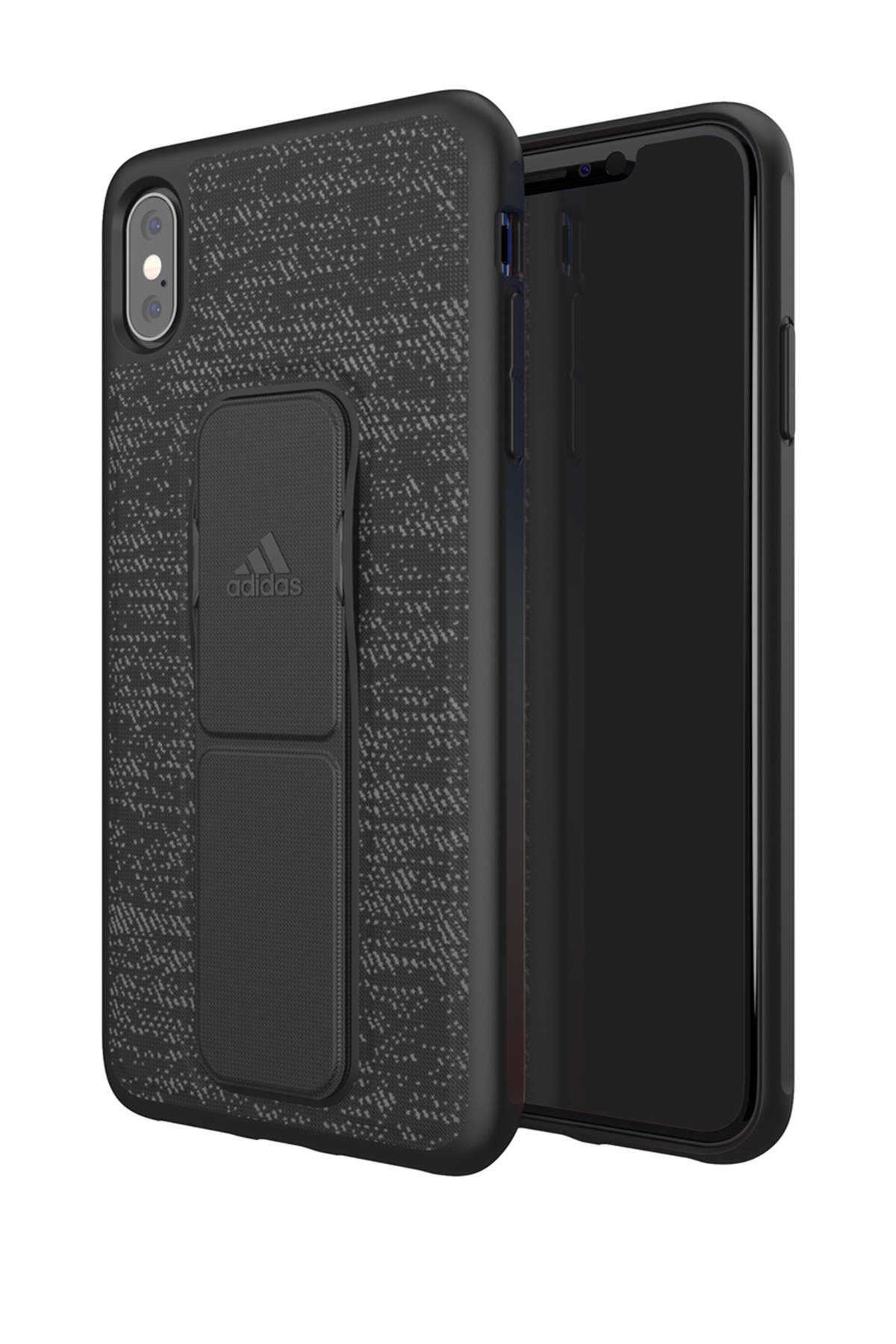 Image of adidas Black Grip iPhone XS MAX Case