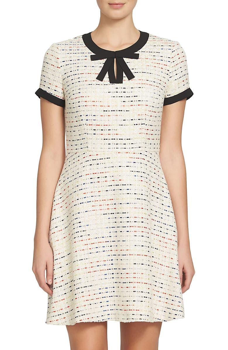 CECE Chloe Tweed Dress, Main, color, 189