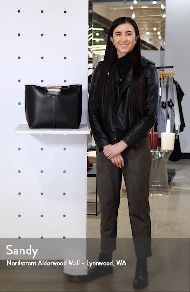 Tina Faux Leather Tote, sales video thumbnail