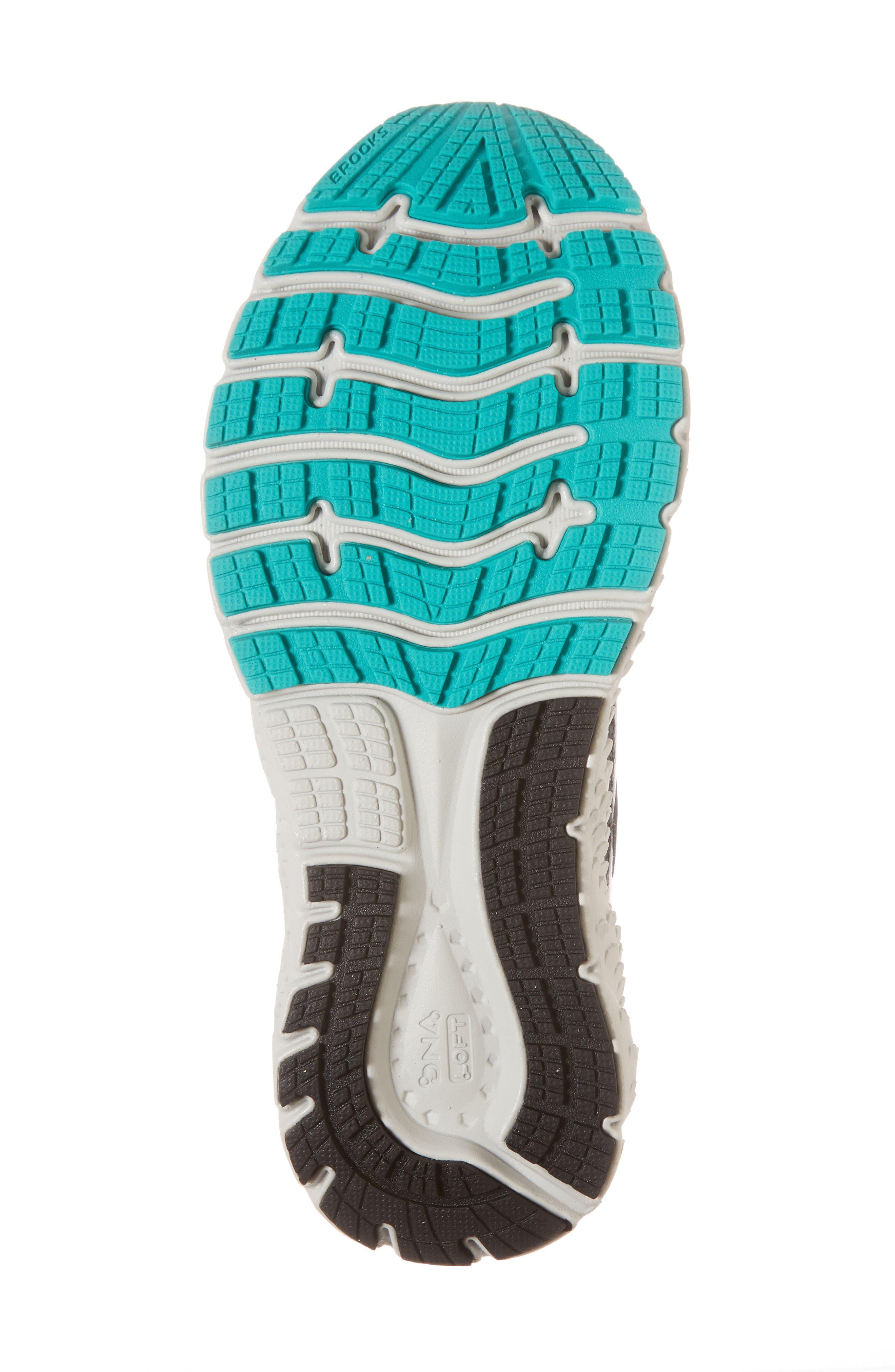 ,                             Glycerin 16 Running Shoe,                             Alternate thumbnail 6, color,                             EBONY/ GREEN/ BLACK