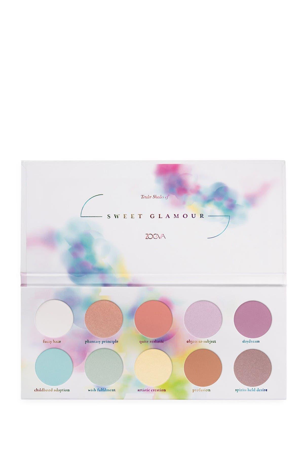 Image of Zoeva Sweet Glamour Eyeshadow Palette
