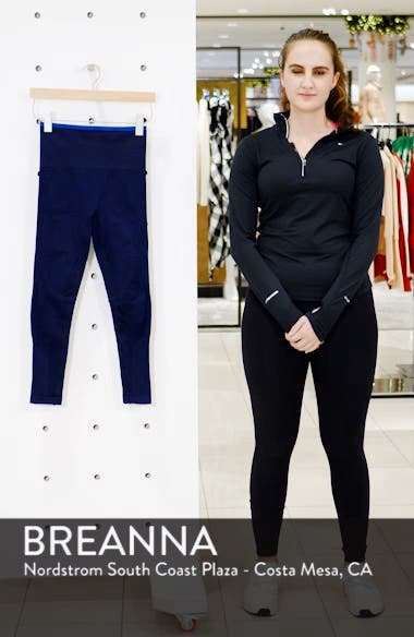 Six Eight High Waist Crop Leggings, sales video thumbnail