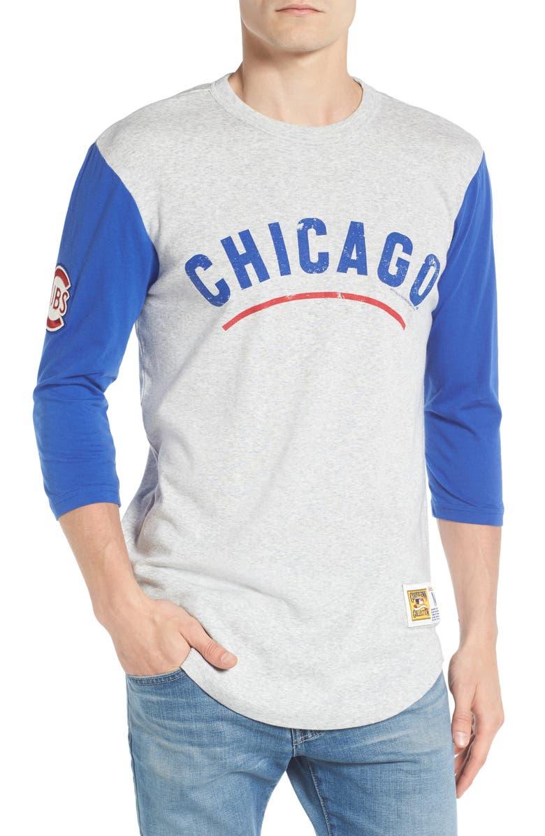767d9256 Mitchell & Ness Scoring Position - Chicago Cubs Baseball T-Shirt ...