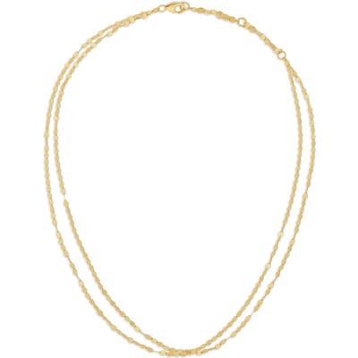 Lana Jewelry Double Blake Chain Choker Necklace