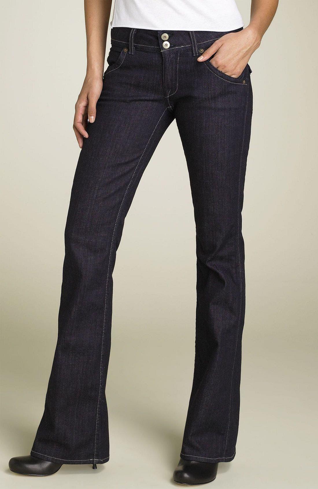 ,                             Signature Flap Pocket Bootcut Jeans,                             Main thumbnail 84, color,                             489
