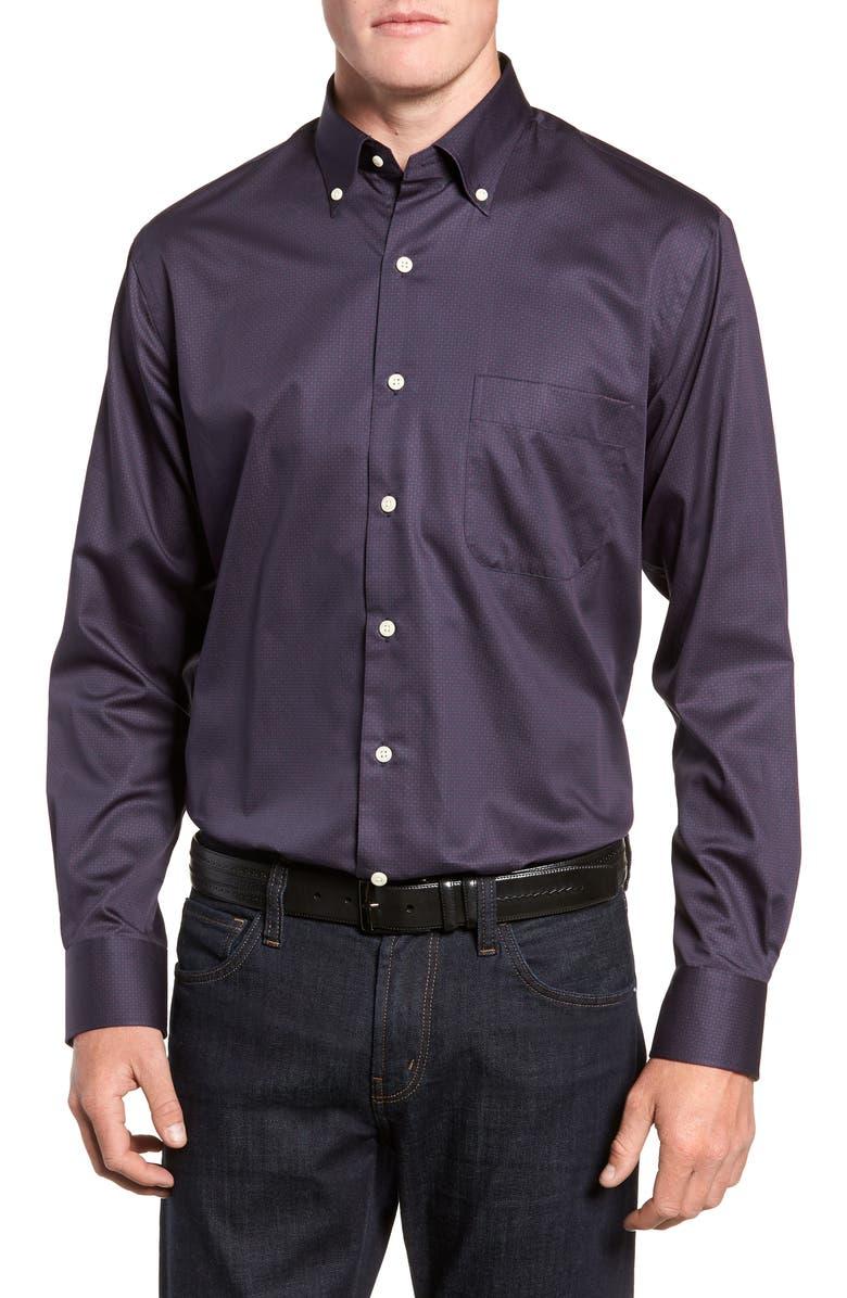 PETER MILLAR Geo Blossom Sport Shirt, Main, color, 400
