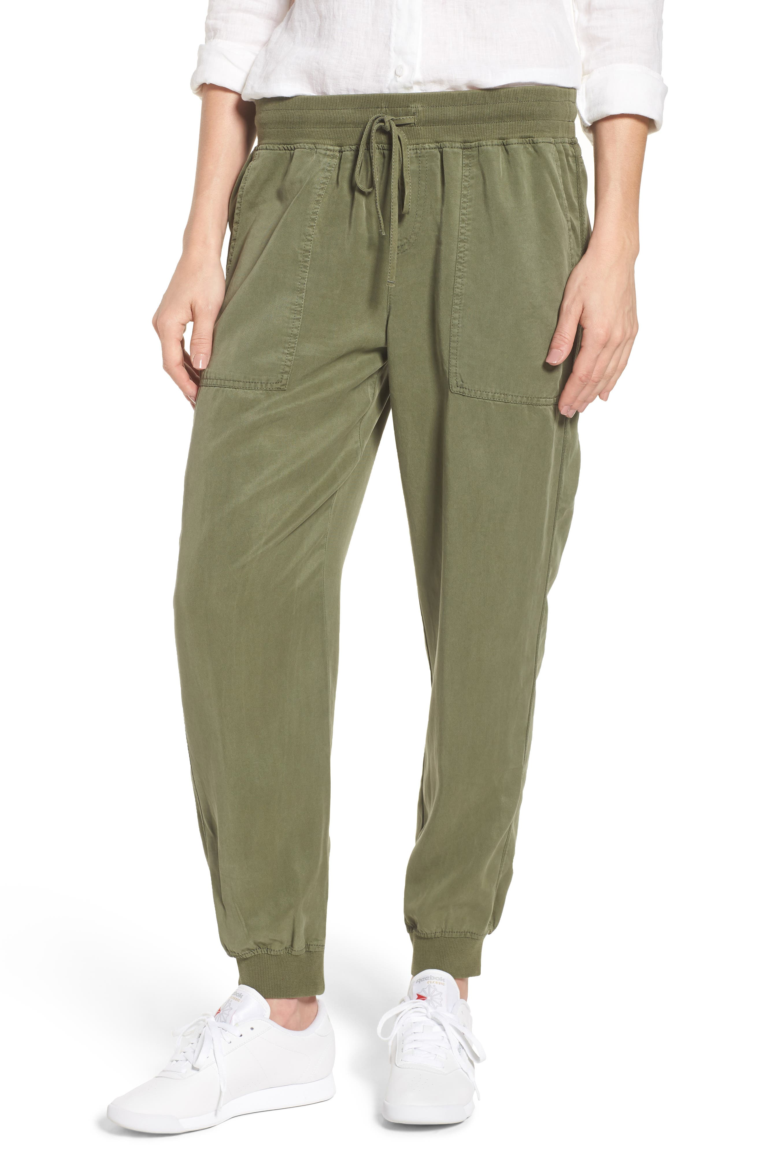 Women's Vince Camuto Twill Jogger Pants