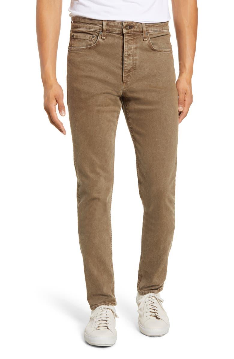 RAG & BONE Fit 2 Slim Fit Jeans, Main, color, PUTTY