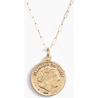 Bracha Alexander Coin Pendant Necklace