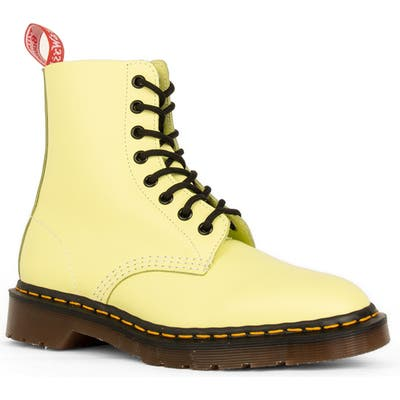 Dr. Martens X Undercover Limited Edition 1460 8-Eye Boot, US/ 4UK - Yellow