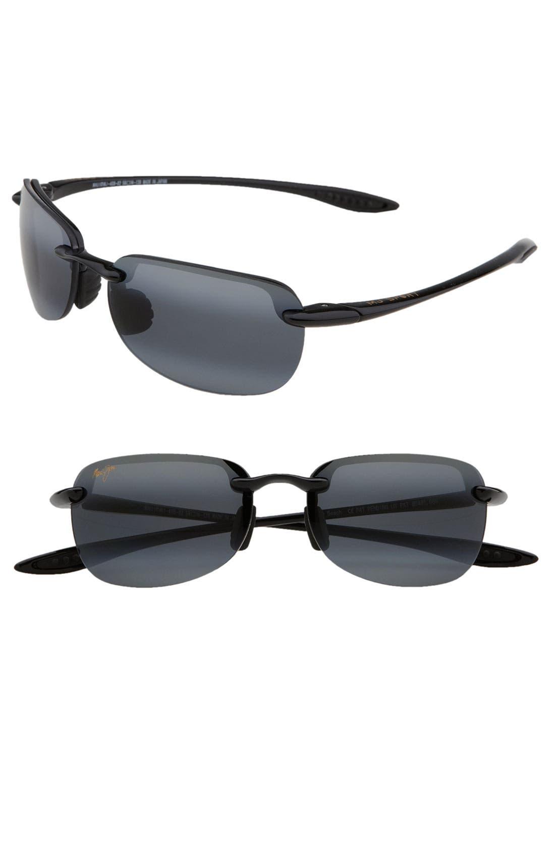 Sandy Beach 55mm Polarizedplus2 Semi Rimless Sunglasses
