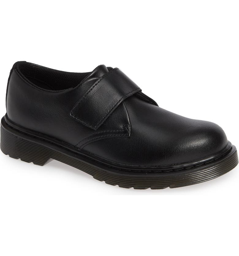 DR. MARTENS Strap Shoe, Main, color, BLACK