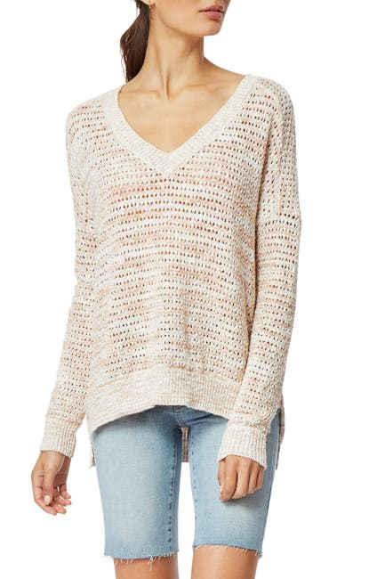Image of Habitual Vera V-Neck Knit Sweater