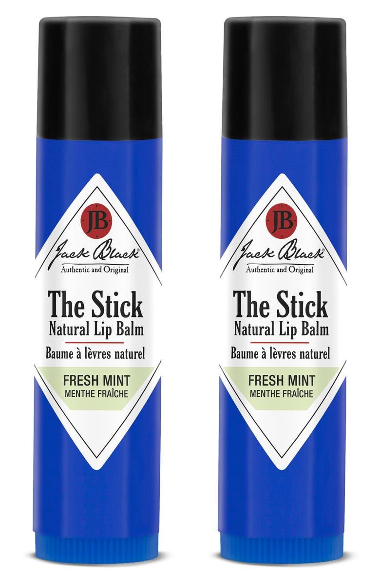 JACK BLACK The Stick Natural Lip Balm Duo, Main, color, THE STICK