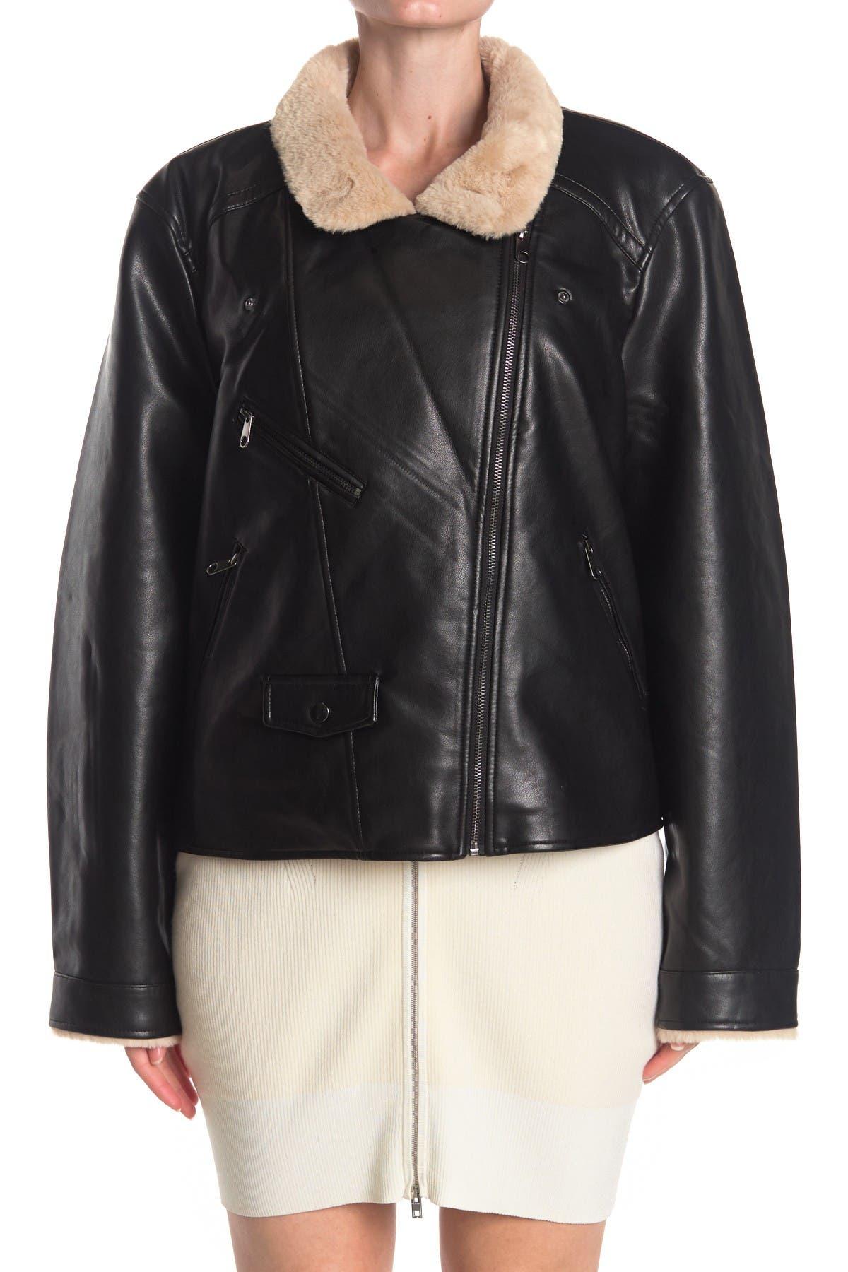 Vero Moda Womens Vmnancy Short Faux Fur Jacket