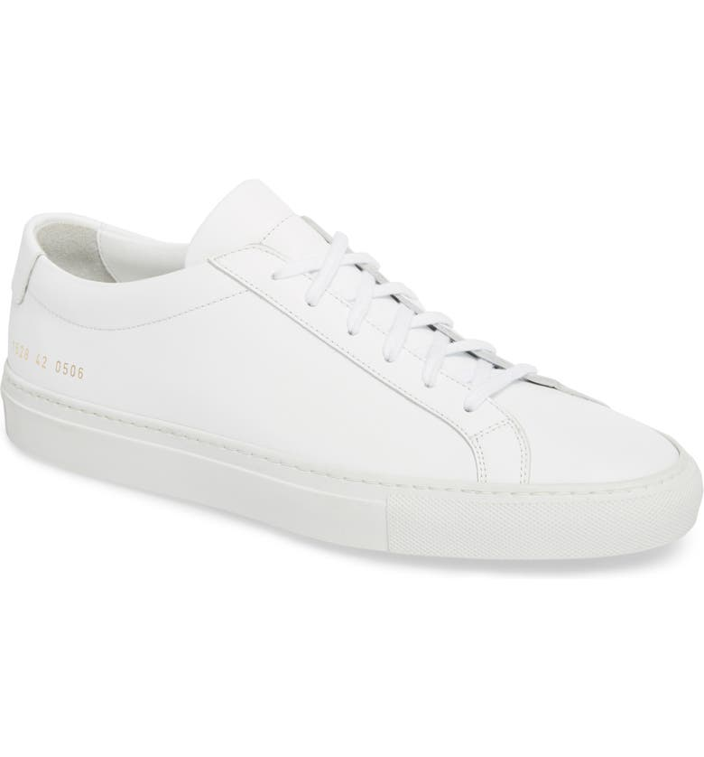 COMMON PROJECTS Original Achilles Sneaker, Main, color, WHITE