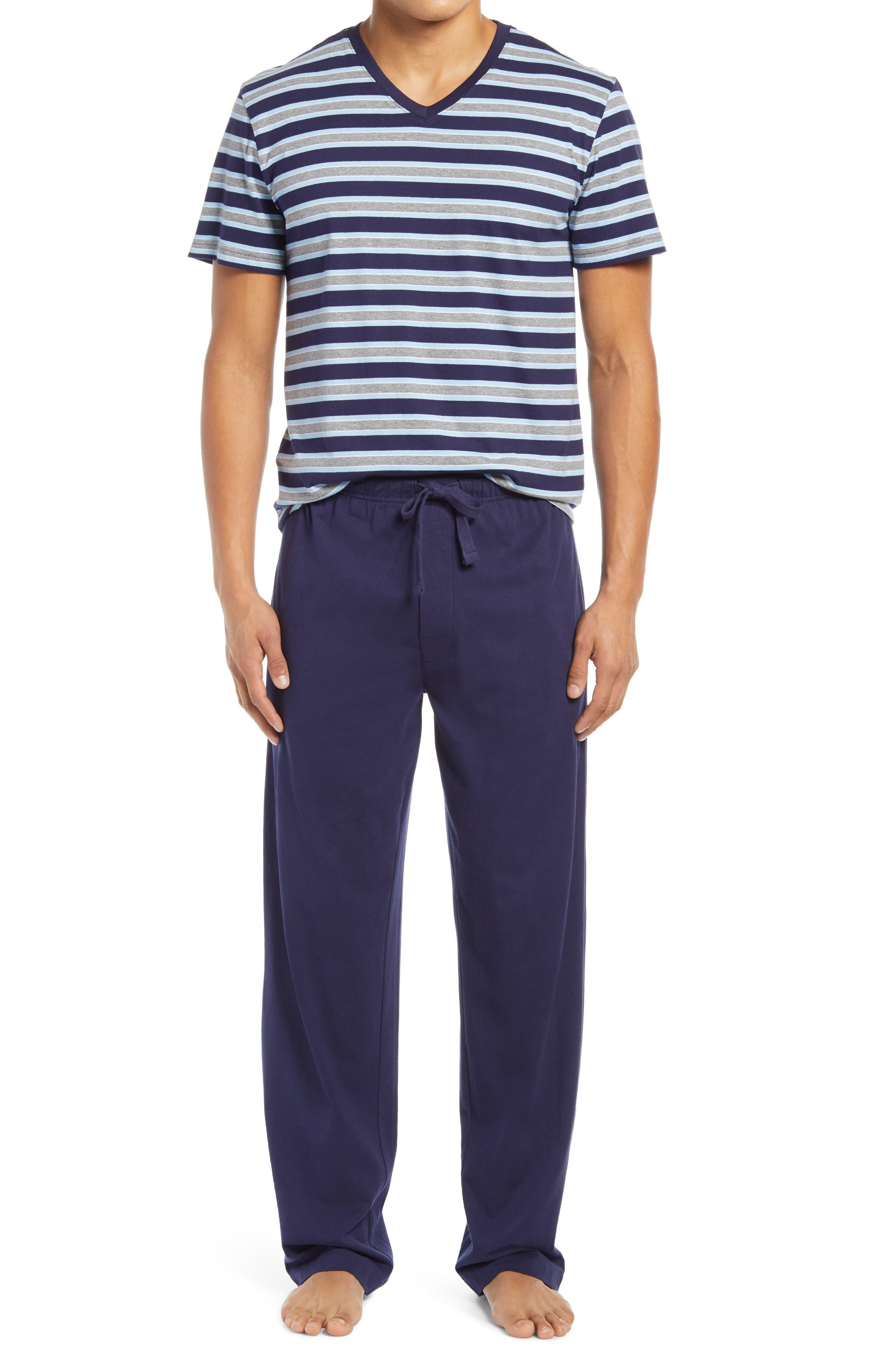 Men's Pure Lines Knit Cotton Pajamas